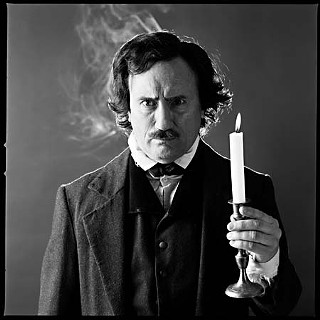 Jeffrey Combs as Edgar Allan Poe