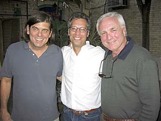 (l-r): Wayne Nagle, Don Harvey, and Don Ellison