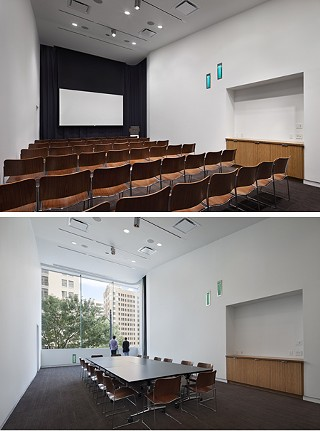 Flex space: two views of the Community Room
