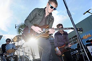 Spoon's outdoor in-store at Waterloo Records