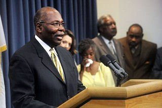 Columbus Adams called last week for Gov. Rick Perry to grant clemency to his son, Timothy Adams, who was sentenced to death in 2003 for the murder of his infant son, Timothy Adams Jr. Despite pleas from the family, faith leaders, and even three jurors from the sentencing hearing, Timothy Adams was denied clemency and was executed on Tuesday.