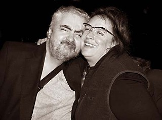 Daniel Johnston and Kathy McCarty