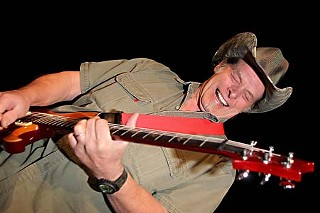 Doff the hat, dude: Ted Nugent at  the Texas Film Hall of Fame Awards