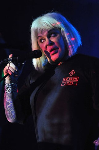 Genesis Breyer P-Orridge of Psychic TV
