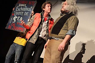 The Old Murder House live production of <i>Back to the Future</i>