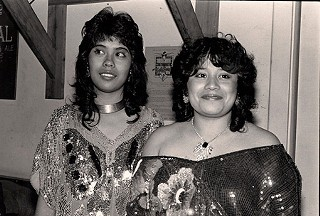 Margarita and Martina Maldonado, December 1985