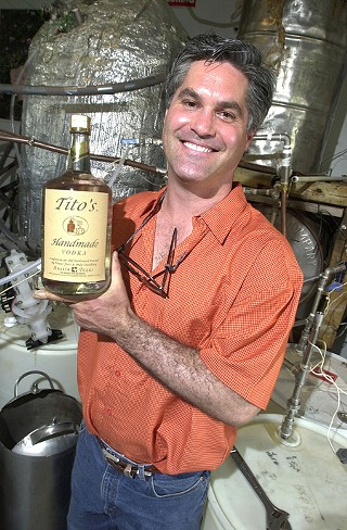 Bert Butler Tito Beveridge II of Tito's Handmade Vodka
