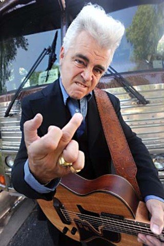 Dale Watson (with a nod to photographer Jim Marshall and Johnny Cash at San Quentin Prison)