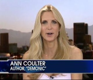 Ann Coulter: Demonic is the name of her book
