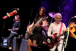 Mother's Little Helpers: (l-r) Belinda Carlisle, Kathy Valentine, Jane Wiedlin