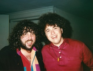 All Hopped Up: NRBQ drummers Tom Ardolino (l) and Conrad Choucroun
