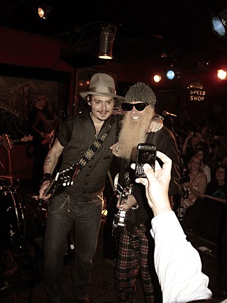 Pirates of the Continental: Johnny Depp and Billy Gibbons