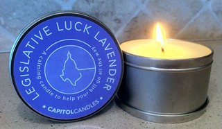 Capitol Candles knows: Just because it's political doesn't mean it can't smell good.