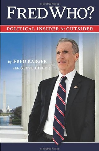 Like he said: Who? Fred Karger, now tied with Rick Perry in New Hampshire