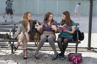 The new HBO series, Girls, from Lena Dunham (center), will debut at SXSW 2012