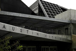 City Hall: Like the AISD Carruth Administration Center, except the ceiling doesn't leak