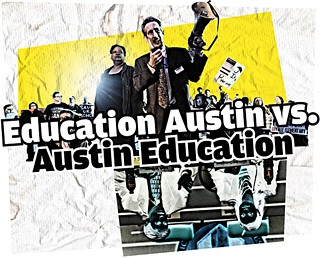 An Education Austin rally in February