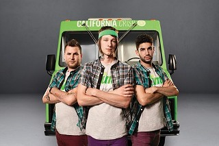 Daniel Shemtob and the Lime Truck team, winners of the second season of the Great Food Truck Race.