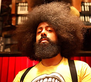 Who's good and who's evil: Reggie Watts vs. Tom Cruise in <i>Legend</i>