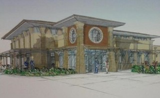 Renderings for the proposed building