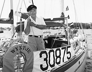 Cronkite aboard the <i>Wyntje</i>