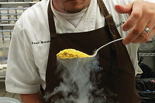 Sean Brock works