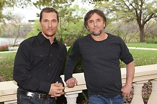 Matthew McConaughey (l) and Richard Linklater