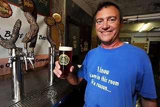 Steve Ander­son  of Live Oak Brewing Company