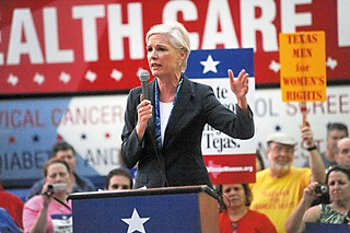 Planned Parenthood's Cecile Richards spoke in Austin at a rally for women's health in March.