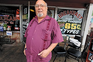 Tamale House owner Robert Vasquez