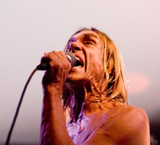 The Stooges' Iggy Pop at Stubb's, 2007