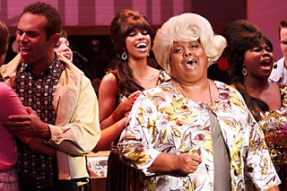 Big, Blonde, and a Beautiful Performance: Critics Table nominee Janis Stinson in Zach Theatre's <i>Hairspray</i>