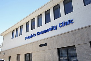 People's Community Clinic is at 30th and I-35, not too far from its campus-area roots.