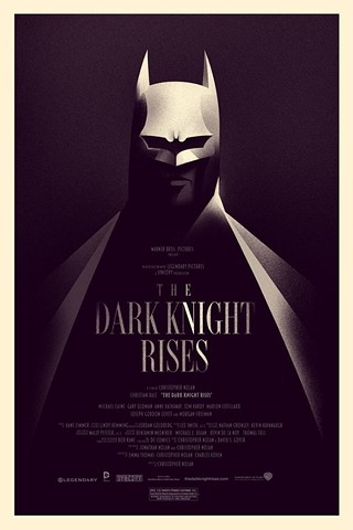Mondo and Olly Moss' brings the Dark Knight to light - but only for 24 hours