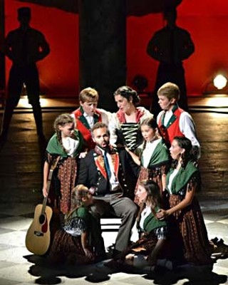 <i>Austria's Got Talent</i> winners, the Von Trapp Family Singers, in Zilker Theatre Production's <i>The Sound of Music</i>