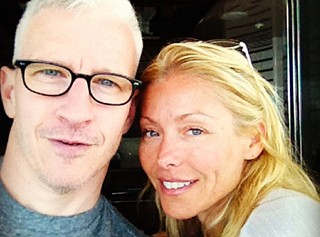 Anderson Cooper and Kelly Ripa: Besties