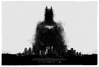 From Mondo Gallery: <i>The Dark Knight Rises</i> by Jock