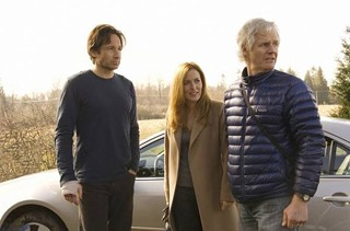 Chris Carter on the set of 2008's The X-Files: I Want To Believe