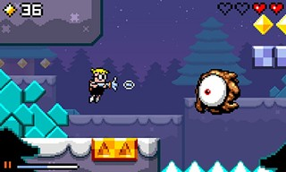 Mutant Mudds: Are you looking at me?