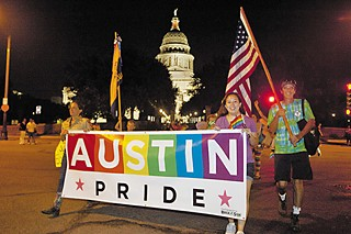 Just after last weekend's Pride celebrations, City Council is endorsing marriage equality in Texas.