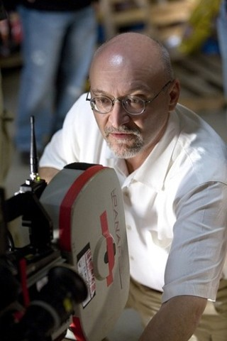 Frank Darabont on the set of 2007's The Mist