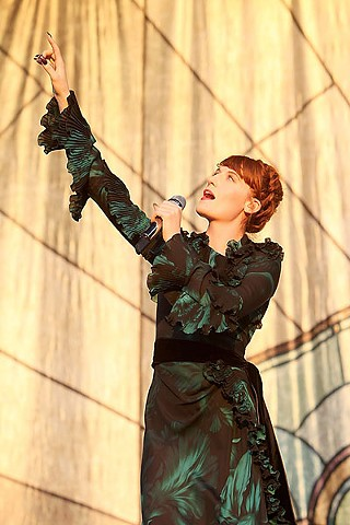 ACL Live Shot: Florence + the Machine