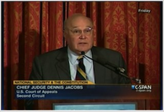 Chief Judge Dennis Jacobs of the United States Court of Appeals for the Second Circuit