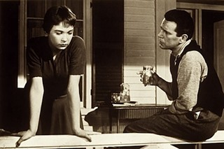 Shirley MacLaine and John Forsythe in 'The Trouble With Harry'