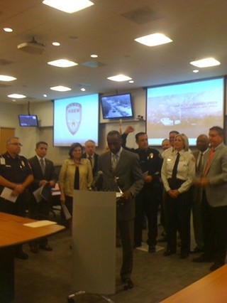 City Manager Marc Ott and other area officials say they're ready for F1 weekend