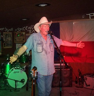 Billy Joe Shaver blesses Poodie's