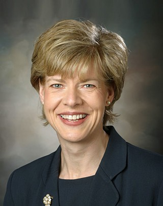 Fox News shoves Tammy Baldwin back in the closet