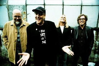 Surrender: Bun E. Carlos (who no longer tours with the group), Rick Nielsen, Robin Zander, and Tom Petersson