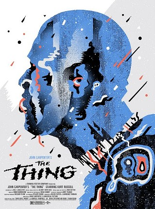 First look at We Buy Your Kids' new print of John Carpenter's 'The Thing' for their new Mondo gallery show, opening this weekend