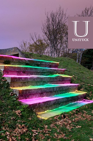 The cover of <i>Unstuck #2</i>, which will be released Dec. 15